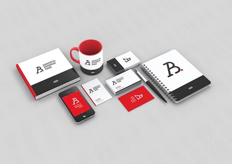 Brand identity Annopol Business Park