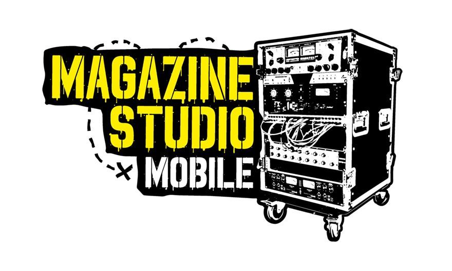 Brand identity Magazine Studio Mobile