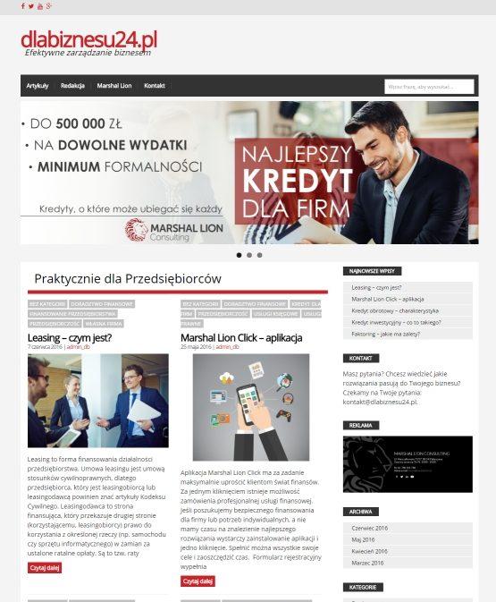 dlabiznesu24.pl Efektywne zarządzanie biznesem
